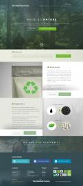 Website design # 434929 voor The Bioplastic Factory..we do good, but we want to do great with our new website! wedstrijd