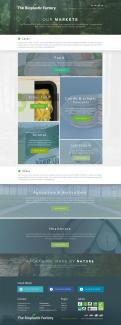 Website design # 437640 voor The Bioplastic Factory..we do good, but we want to do great with our new website! wedstrijd