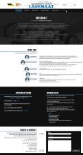 Website design # 427473 voor Fris ontwerp voor bestaande website. wedstrijd