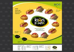 Website design # 182689 voor KING Kumpir website challenge wedstrijd