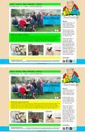 Website design # 292170 voor Ontwerp een vrolijke en kleurrijke website voor een buurt wedstrijd