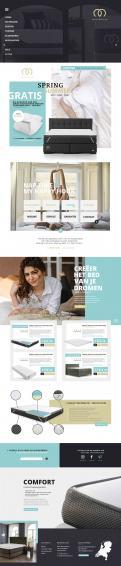 Website design # 1178771 voor Website design matrassen en topdekmatras  alleen branding site  wedstrijd