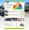 Website design # 293324 voor Ontwerp een vrolijke en kleurrijke website voor een buurt wedstrijd