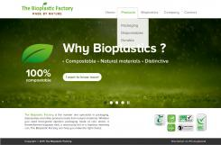 Website design # 436432 voor The Bioplastic Factory..we do good, but we want to do great with our new website! wedstrijd