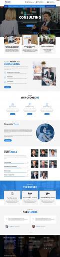 Website design # 1116160 for complete redesign website contest