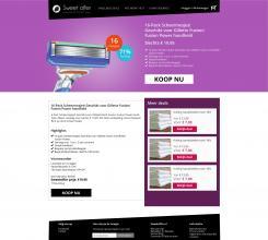 Website design # 305784 voor Nieuw design voor Dagaanbieder wedstrijd