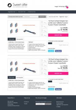 Website design # 305286 voor Nieuw design voor Dagaanbieder wedstrijd