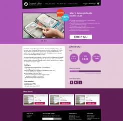 Website design # 306358 voor Nieuw design voor Dagaanbieder wedstrijd
