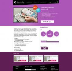 Website design # 306360 voor Nieuw design voor Dagaanbieder wedstrijd