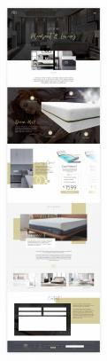 Website design # 1178817 voor Website design matrassen en topdekmatras  alleen branding site  wedstrijd