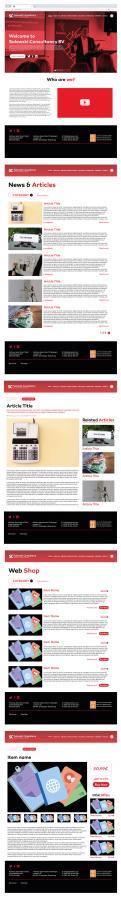 Website design # 1130427 for Website Design Solowski Consultancy BV contest