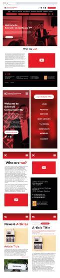 Website design # 1130429 for Website Design Solowski Consultancy BV contest
