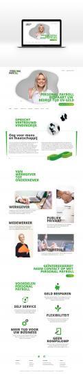 Website design # 949379 voor Redesign van bestaande website payrollorganisatie wedstrijd