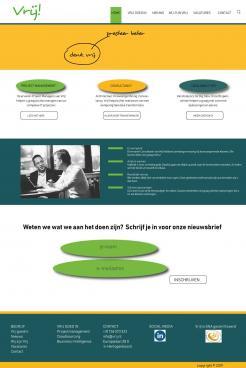Website design # 991633 voor Vrij goede Consultants zoeken heel goed website ontwerp wedstrijd