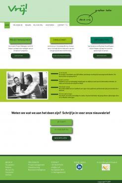 Website design # 991640 voor Vrij goede Consultants zoeken heel goed website ontwerp wedstrijd