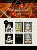 Website design # 149323 voor taartdecoratie barokstijl  wedstrijd