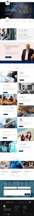 Website design # 1083188 for Design a Brand New and Modern Website contest
