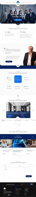 Website design # 1083207 for Design a Brand New and Modern Website contest