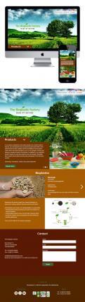 Website design # 436190 voor The Bioplastic Factory..we do good, but we want to do great with our new website! wedstrijd