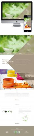 Website design # 436624 voor The Bioplastic Factory..we do good, but we want to do great with our new website! wedstrijd
