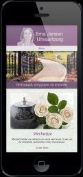 Website design # 307032 voor Erna Jansen Uitvaartzorg wedstrijd