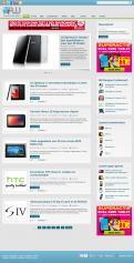 Website design # 162490 voor Nieuw uiterlijk voor grootste Android-website van NL en BE wedstrijd