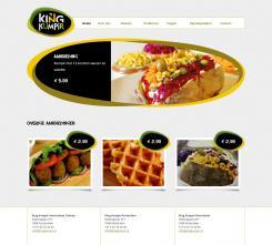 Website design # 177958 voor KING Kumpir website challenge wedstrijd