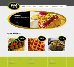 Website design # 177960 voor KING Kumpir website challenge wedstrijd