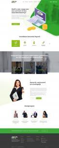 Website design # 948335 voor Redesign van bestaande website payrollorganisatie wedstrijd